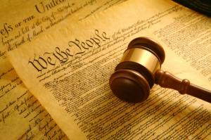 Constitution & Gavel