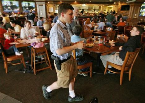Restaurants Banning Open Carry